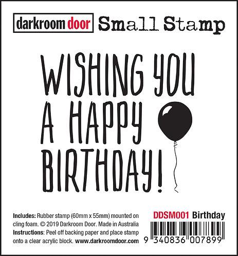 Darkroom Door Small Stamp - Birthday