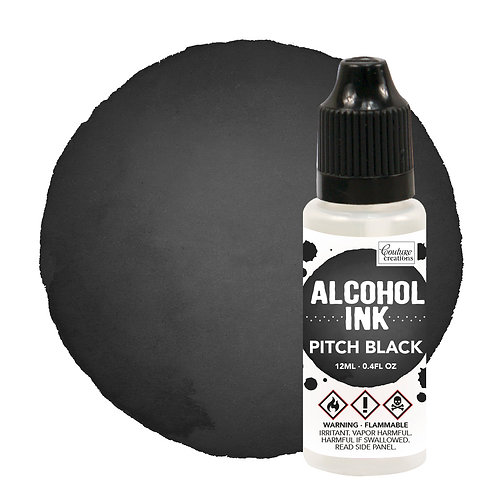 Couture Creations Alcohol Ink - Pitch Black