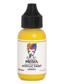 Dina Wakley® Media Acrylic Paint 1oz - Lemon
