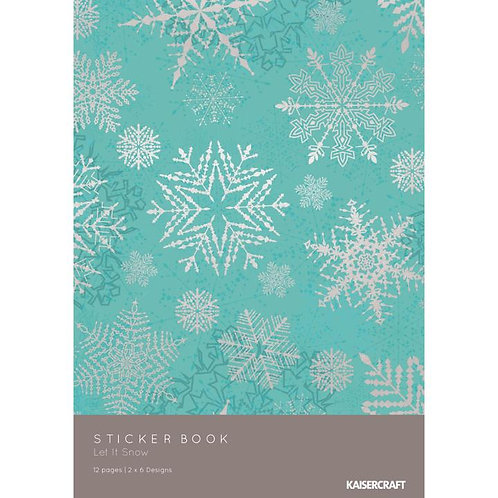 Kaisercraft® Let It Snow Collection Sticker Pad