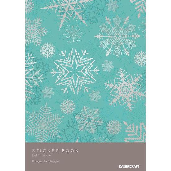 Kaisercraft® Let It Snow Collection Sticker Pad