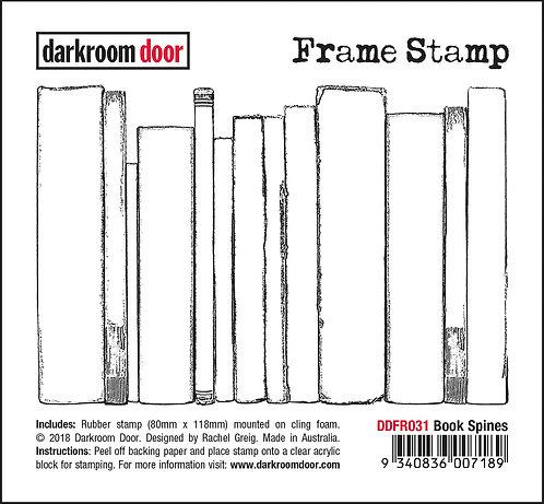 Darkroom Door Frame Stamp - Book Spines
