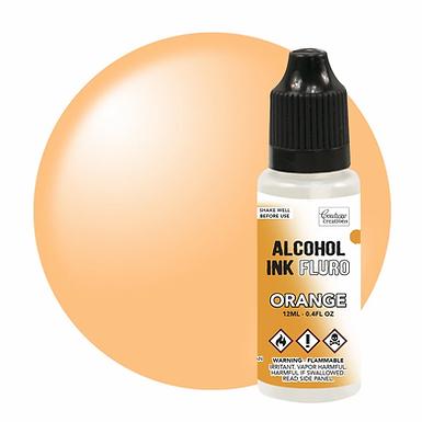Couture Creations Alcohol Ink Fluro - Orange