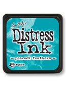 Tim Holtz® Mini Distress Ink Pad - peacock feathers