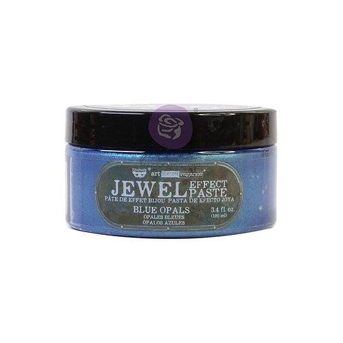 Finnabair Art Extravagance Jewel Texture Paste 100ml Jar - Blue Opals