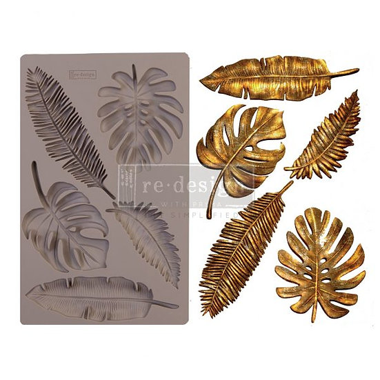 Redesign Decor Moulds® – Monstera – 5″ x 8″