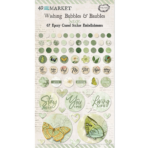 49 and Market® Wishing Bubbles & Baubles - Sage