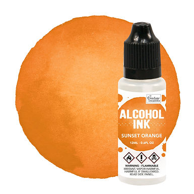 Couture Creations Alcohol Ink - Sunset Orange