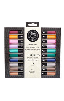Kelly Creates Dual Brush Tipped Pens - Meadow