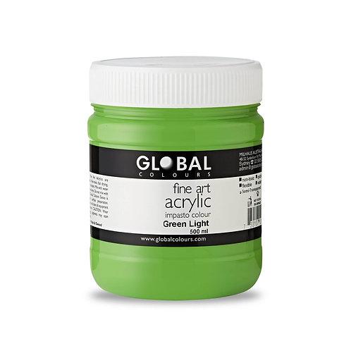 Green Light - 500ml Fine Art Acrylic Impasto Paint