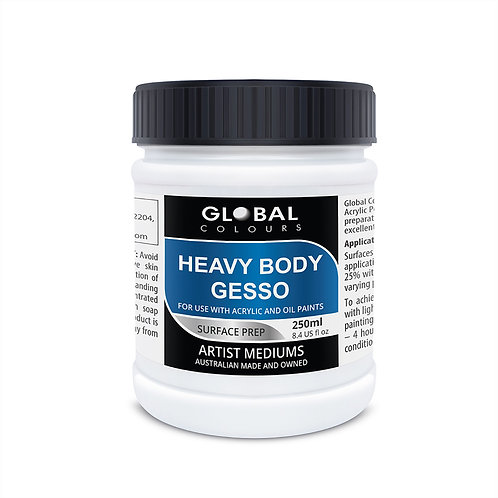 Global Heavy Body Gesso - 250ml