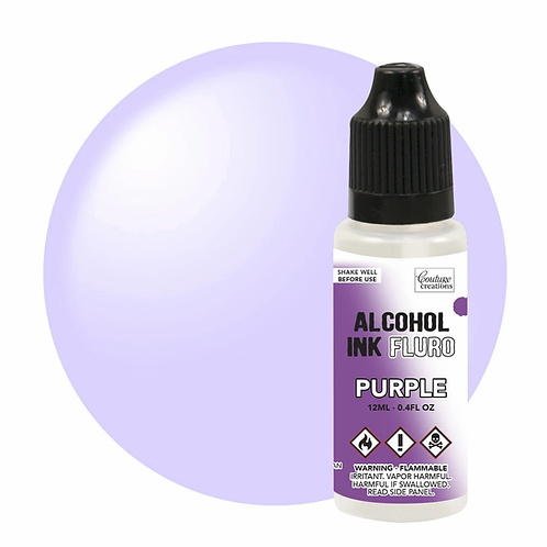 Couture Creations Alcohol Ink Fluro - Purple