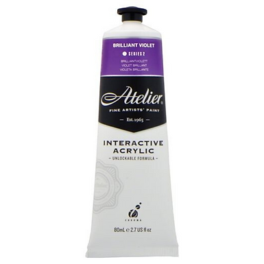 Atelier Interactive Acrylic - 80ml - Brilliant Violet