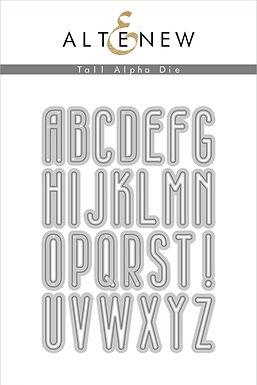 Altenew® Tall Alpha Die Set