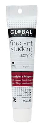 Global fine art student acrylic 75ml - Magenta