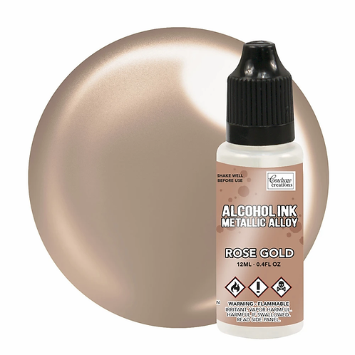 Couture Creations® Alcohol Ink Metallic Alloy - Rose Gold