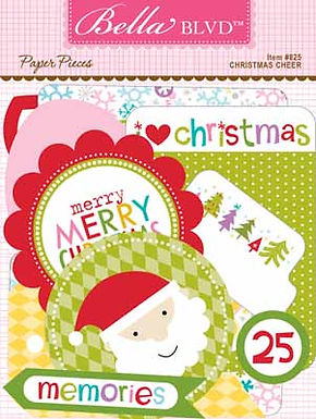 Bella Blvd® Christmas Cheer - Ephemera
