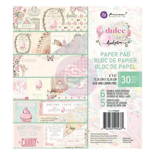"""Dulce 6 x 6"""" Paper Pad by Prima®"""