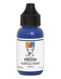 Dina Wakley® Media Acrylic Paint 1oz - Lapis