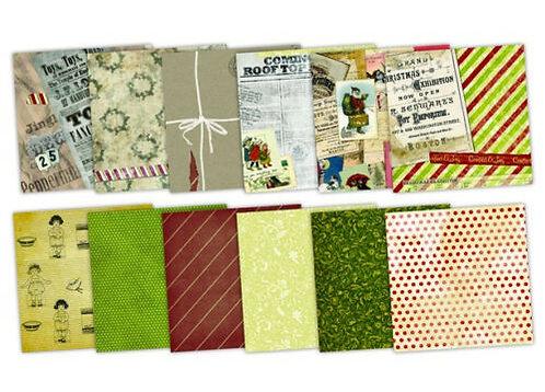 7 Gypsies® Santas Journey Paper Pad 8 x 8
