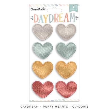 Cocoa Vanilla® Daydream - Puffy Heart Stickers