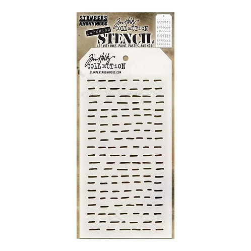 Tim Holtz® Layering Stencil - Dashes