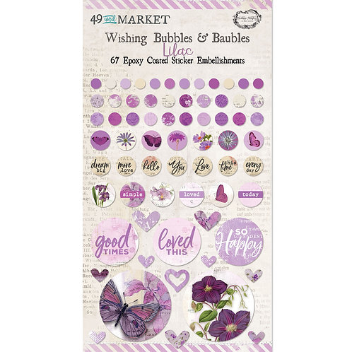 49 and Market® Wishing Bubbles & Baubles - Lilac