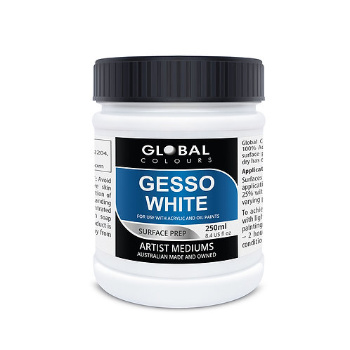 Global White Gesso 250ml