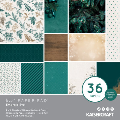 Emerald Eve 6.5 Paper Pad