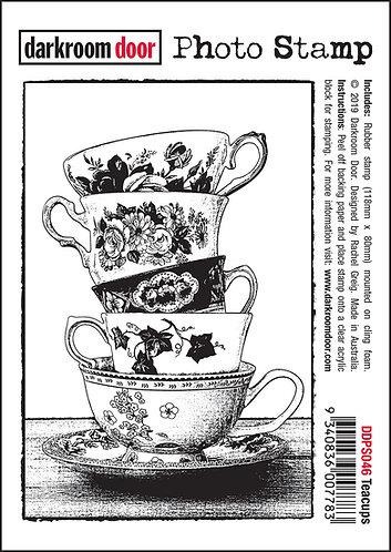 Darkroom Door Photo Stamp - Teacups