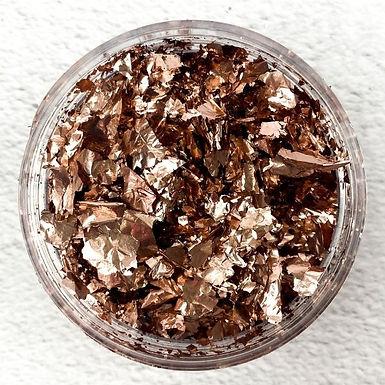Colour Passion® Metallic Foil Flakes - Dusty Rose