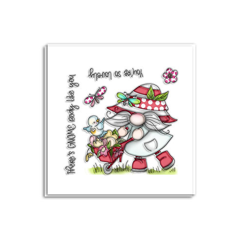 There's Gnome Body Like You stamp set by Polkadoodles®