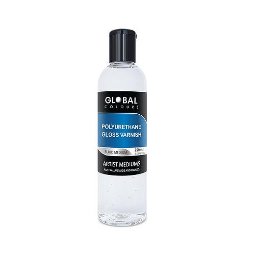 Global Polyurethane Gloss Varnish 250ml Professional Medium