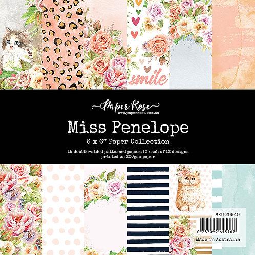 Paper Rose - 6x6 Paper Pack - Miss Penelope