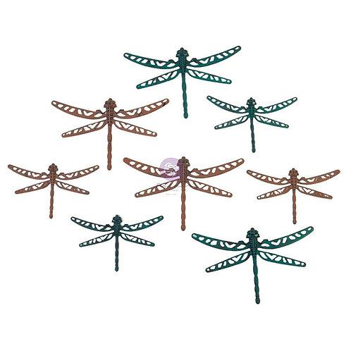 Finnabair Mechanicals Metal Embellishments - Scrapyard Dragonflies