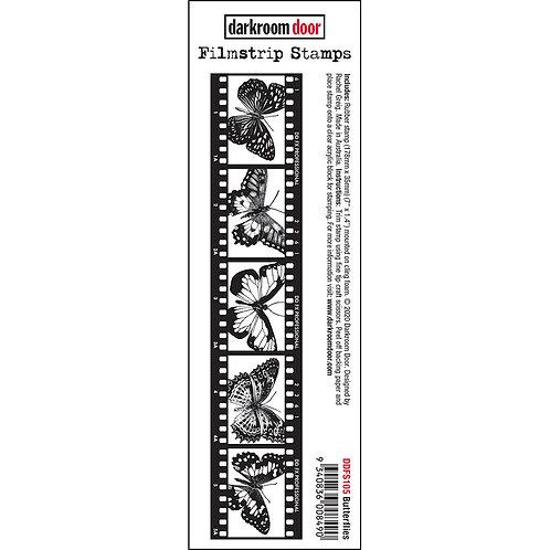 Darkroom Door® Filmstrip Stamp - Butterflies