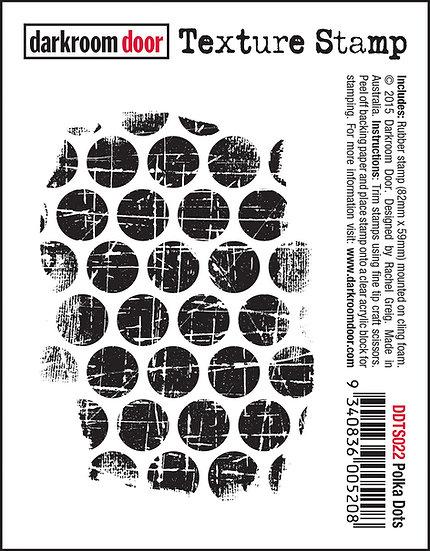 Darkroom Door Texture Stamp - Polka Dots