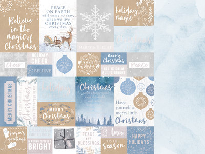 Kaisercraft® Whimsy Wishes Warm Wishes 12x12 paper