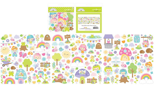 Doodlebug Odds and Ends Die Cuts  - Fairy Garden