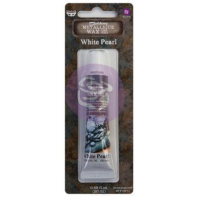 Art Alchemy – Metallique Wax – White Pearl –  20ml