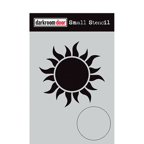 Darkroom Door® Small Stencil - Sun