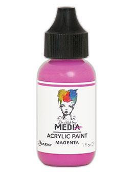 Dina Wakley® Media Acrylic Paint 1oz - Magenta