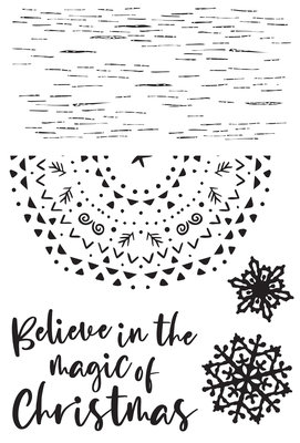 Kaisercraft® Whimsy Wishes Clear Stamp