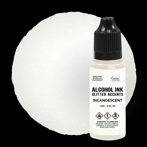 Couture Creations Alcohol Ink Glitter Accents - Incandescent