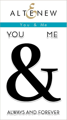 Altenew® You & Me stamps