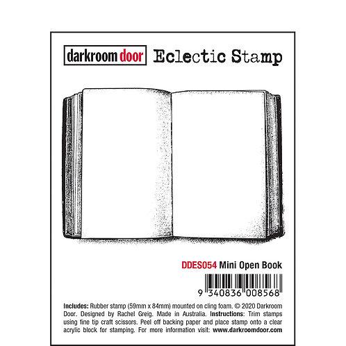 Darkroom Door Eclectic Stamp - Mini Open Book