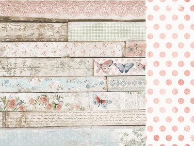 Kaisercraft® Flower Shoppe 12x12 Scrapbook Paper - Weatherboard