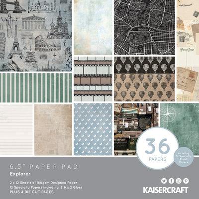 Kaisercraft® Explorer 6.5 Paper Pad