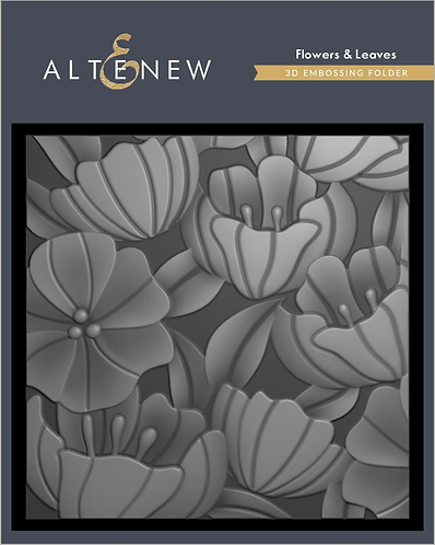 Flowers & Leaves 3D Embossing Folder by Altenew®