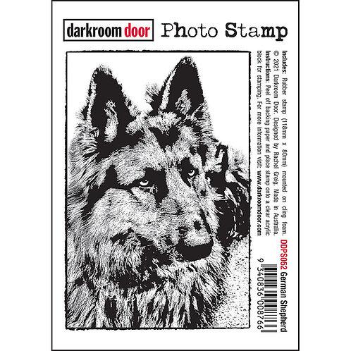 Darkroom Door Photo Stamp - German Shepherd